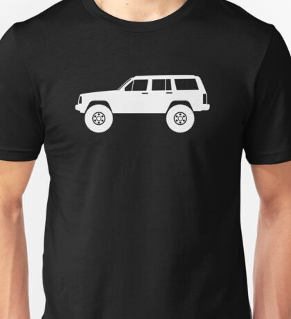 Lifted 4x4  - for Jeep Cherokee XJ / Wagoneer 1984-1996 enthusiasts Unisex T-Shirt
