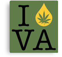 I Dab VA (Virginia) Canvas Print