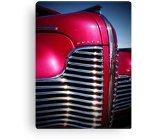 1940 Buick Grille Canvas Print