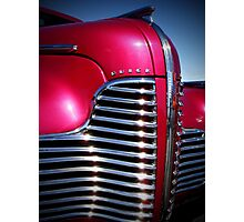 1940 Buick Grille Photographic Print
