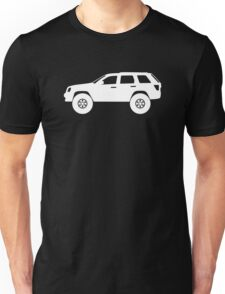 Lifted 4x4 - for Jeep Grand Cherokee WK 2005-2010 enthusiasts Unisex T-Shirt