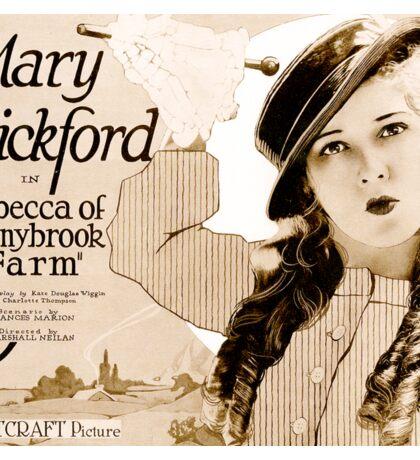 Mary Pickford in Rebecca of Sunnybrook Farm (1917) Sticker