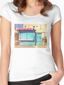 Sunday in Morocco Women's Fitted Scoop T-Shirt