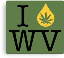 I Dab WV (West Virginia) Canvas Print
