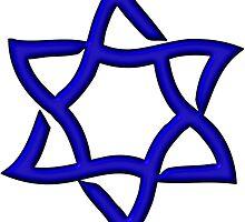 Star of David, ✡, Hexagram, Israel, Judaism,  by nitty-gritty