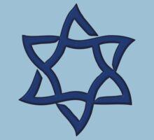 Star of David, ✡, Hexagram, Israel, Judaism,  Kids Clothes