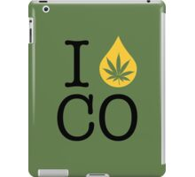 I Dab CO (Colorado) iPad Case/Skin