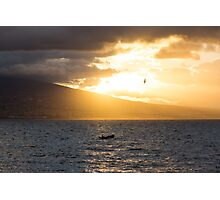 The Fisherman and the Seagull Photographic Print