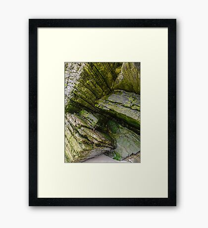 Rocks of Maghera - County Donegal, Ireland #10 Framed Print