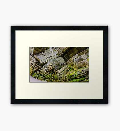 Rocks of Maghera - County Donegal, Ireland #11 Framed Print