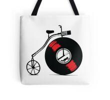 Record Bike Tote Bag