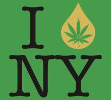 I Dab NY (New York) Weed by LaCaDesigns