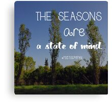 A state of mind Canvas Print