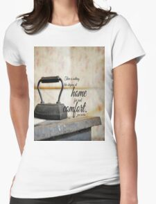 Jane Austen Home Womens Fitted T-Shirt
