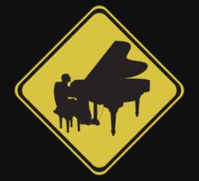 Attention: Piano Player Ahead! by Mythos57