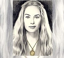 Lena Headey miniature by wu-wei