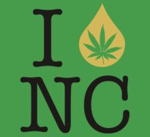 I Dab NC (North Carolina) by LaCaDesigns