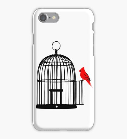 Vacant Birdcage iPhone Case/Skin
