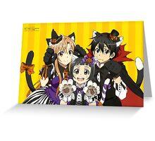 Anime: SWORD ART ONLINE - Halloween Greeting Card