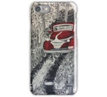 Little Red Truck iPhone Case/Skin