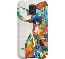 Colorful Cow Art - Mootown - By Sharon Cummings Samsung Galaxy Case/Skin