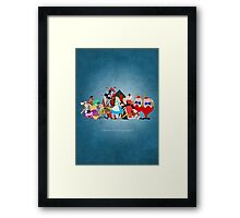 Alice in Wonderland inspired design. Framed Print