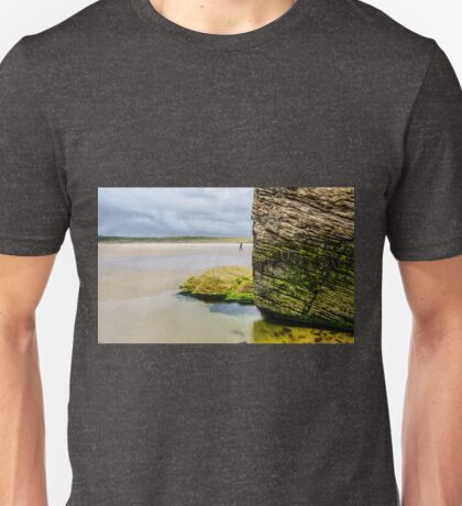 Rocks of Maghera Beach - Ireland #14 Unisex T-Shirt