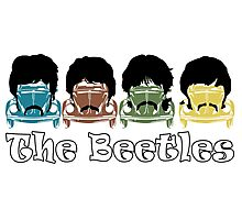 The Beatles/Beetles Photographic Print