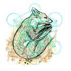 Sleeping fox by Freja Friborg