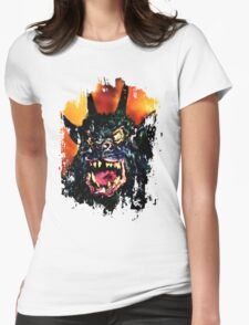 Night of the Demon Womens Fitted T-Shirt