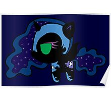 Weeny My Little Pony- Nightmare Moon Poster