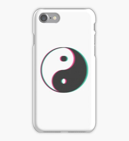 YinYang Transparent Tumblr Style iPhone Case/Skin