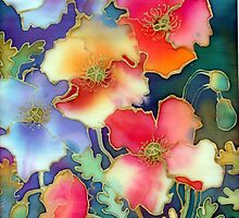 Silky Iceland Poppies by Ann Mortimer