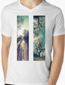 'Discovery' Panorama Set   Mens V-Neck T-Shirt