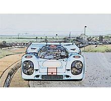 1967 Porsche 911 917K Illustration  Photographic Print