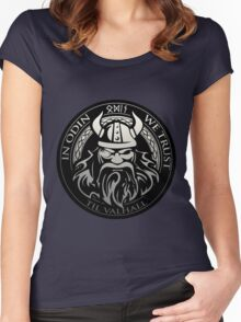 Get! In Odin We Trust - Valhalla collection Women's Fitted Scoop T-Shirt