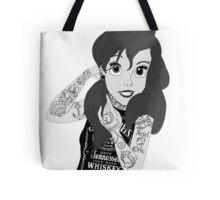 Ariel Goth Punk Grunge Tote Bag