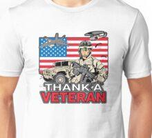 Enjoy Freedom? Thank A Veteran Military Unisex T-Shirt