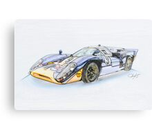 1967 Lola T7 I Illustration 3 Metal Print