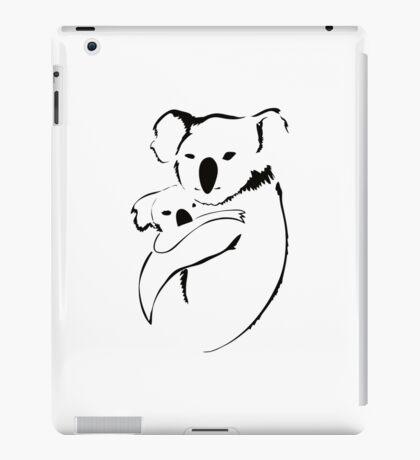 Koala mother and baby iPad Case/Skin