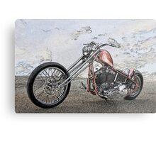 Chopper Illustration I Metal Print