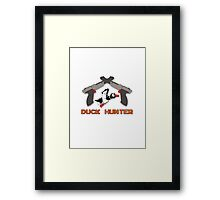 Duck Hunter Framed Print