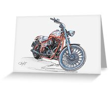 Chopper Illustration III Greeting Card