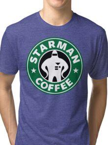 Starman Coffee Tri-blend T-Shirt