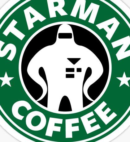 Starman Coffee Sticker