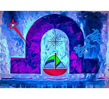 Night Sail Photographic Print
