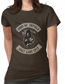 Sons of Anfield - Salt Lake City Womens Fitted T-Shirt