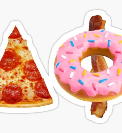 Pizza Donut Aphi Sticker