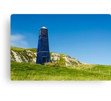 The Blue Tower Canvas Print