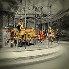 Spinning around by Karen Tregoning